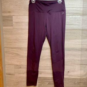 3/$30 Head Leggings purple M